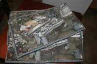 Tapestry Like Placemats