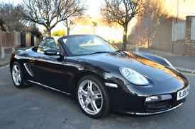 Porsche Boxster 2.7 2006, 91K MILES, FULL S/HISTORY, NEW MOT, SAT NAV, LEATHER