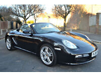 Porsche Boxster 2.7 2006, 91K MILES, FULL S/HISTORY, NEW MOT, SAT NAV, LEATHER