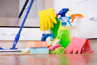 Ajax - I need help cleaning on Tues or Wed. $20/hr