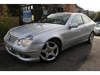 2005 Mercedes C Class C 220 CDI SPORTCOUPE SE FSH Long MOT Finance Available