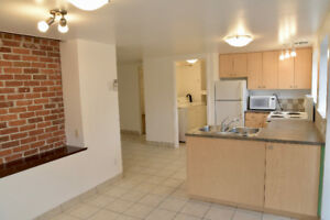 * FULLY RENOVATED * 2 Br Lower Level Suite - Avail. Now - Cook/Q