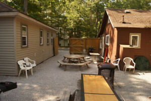 COTTAGES AVAILABLE FOR LARGE PARTIES WEEKDAY SPECIALS