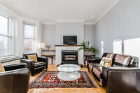 Furnished luxurious upper duplex with 3 rooms next to Westmount