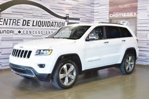 2016 Jeep Grand Cherokee LIMITED TOIT+CUIR+NAVIGATION