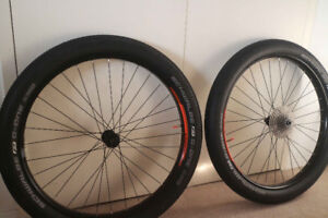 27.5 BOOST 40mm Orbea tubeless wheelset & tires, new