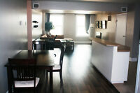 Beautiful fully furnished downtown condo available!