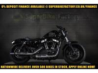 2017 67 HARLEY-DAVIDSON SPORTSTER XL1200 X FORTY EIGHT 1200CC 0% DEPOSIT FINANCE