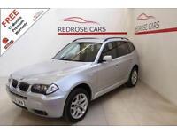 2006 06 BMW X3 3.0 D M SPORT 5D AUTO 215 BHP DIESEL