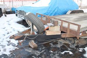 20 foot tilt deck car hauler  H&H Speedloader