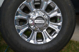 Ford Super Duty Rims & Tires