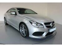 2014 SILVER MERCEDES E220 2.1 CDI AMG SPORT 2DR COUPE CAR FINANCE FR £257 PCM