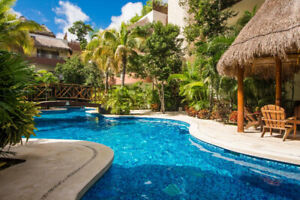 Poolside Vacation Condo in Beautiful Tulum, Mexico