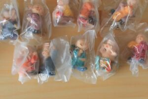 Chinese monk figurines - set of 10