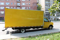 Montreal Moving: $45/hour with Moving Truck; $25/hour with Van