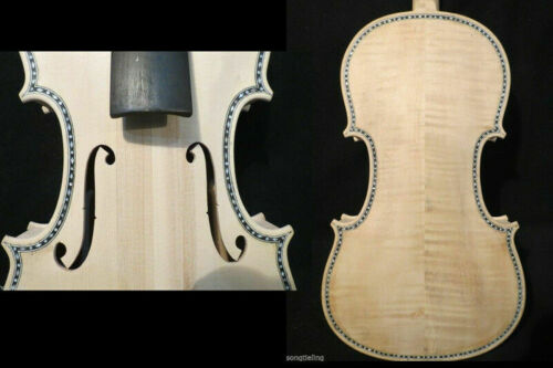 Guarneri style unfinished  SONG Brand Maestro shell inlay  violin 4/4 #9094