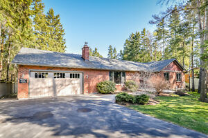 Set in Privacy Among Mature Trees on a Large Lot