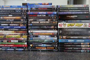 GREAT ASSORTMENT - 114 MOVIES - A GREAT DEAL!