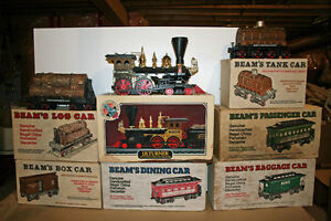 Jim Beam Rail Road Decanters