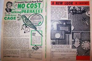 Vintage craft sewing Magazine aunt lydia's Work Basket Craft!!! West Island Greater Montréal image 7