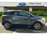 2019 Ford Ecosport 1.0 EcoBoost 125 Titanium 5dr Auto Hatchback Petrol Automatic