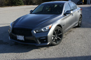 2015 Infiniti Q50s Hybrid AWD - Finance Takeover or buy-out