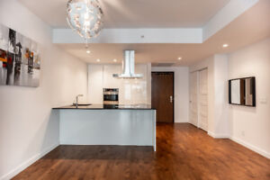 1 bedroom condo for rent in Old Montreal St-M! Garage and locker