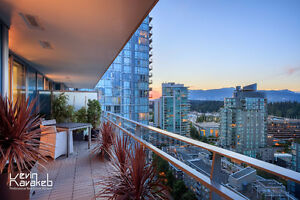 """West Pender Place"" -- 2 BR suite with Spectacular View & Design"