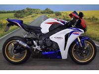 Honda CBR1000RR Fireblade **Race Fit Exhaust, Tank Pad, Tail Tidy**