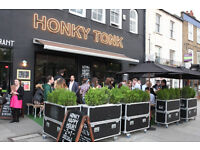 Part-time/Full-time waiting staff needed