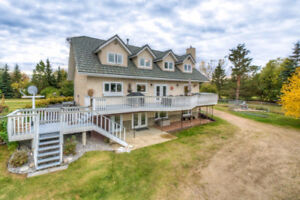 Executive Park-like Acreage with Separate In-Law / Nanny Suite
