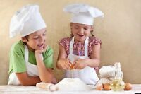 COOKING CAMPS FOR KIDS (Age 6-11)