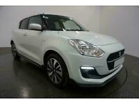 2020 WHITE SUZUKI SWIFT 1.2 ATTITUDE DUALJET 5DR HATCH CAR FINANCE FR £177 PCM