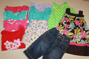 Size 18-24 month Little Girls summer clothing lot.