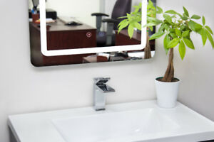 """ACE 32"""" VANITY COMBO SET / FAUCET / LED MIRROR/ SPECIAL PRICE.,."""