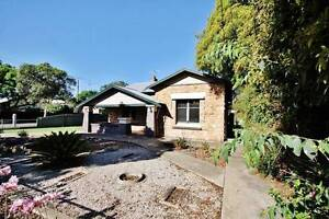Charming period home near tram, train and bus! Millswood Unley Area Preview