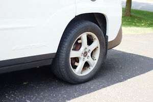 2002 Pontiac Aztek White SUV, Crossover