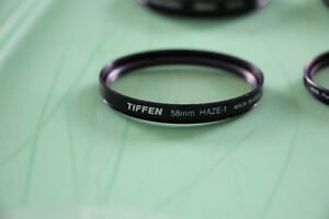 Camera Lens Protector and Haze Filters