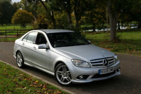 Mercedes-Benz C350 3.0TD ( 231bhp ) BlueEFFICIENCY Auto CDI Sport