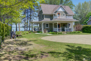Lac Aylmer, Stratford en Estrie. WOW! Superbe cottage 2005
