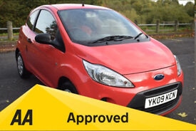 Ford Ka 1.2 STUDIO ** 6 MONTH WARRANTY ** (red) 2009
