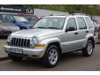 2006 56 JEEP CHEROKEE 2.8 LIMITED CRD 5D AUTO 161 BHP DIESEL