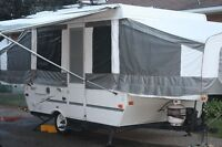 2007 Palamino Tent Trailer - 10 ft box with Bike Rack
