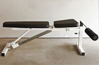 Incline-Decline-Flat Bench – Heavy Duty