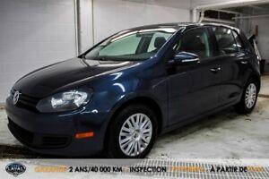 Volkswagen Golf Trendline + Bancs Chauffants + A/C  Laval VW 201