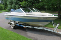 """16"""" DORAL BOWRIDER WITH 140HP EVINRUDE OUTBOARD"""