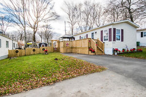 Mobile home with many upgrades in desired Timber Trails Park