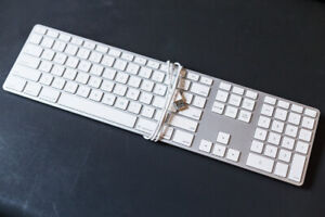 Apple Numeric Keyboards - Aluminum A1243 - Immaculate Condition!