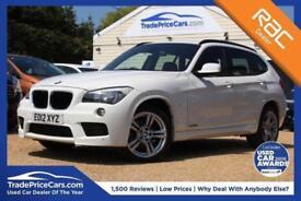 2012 12 BMW X1 2.0 SDRIVE18D M SPORT 5D 141 BHP DIESEL