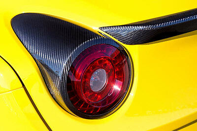 Novitec Carbon Taillight Covers - Ferrari California T